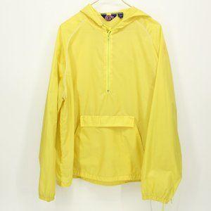 Bright Yellow Light Weight Rain Poncho Jacket